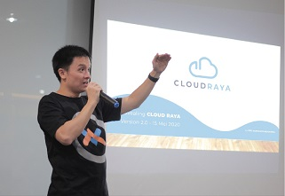 WOWRACK KENALKAN CLOUD RAYA MELALUI WEBINAR REVEALING CLOUD RAYA 2.0 : BUILD YOUR PROJECT FROM HOME
